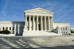 US Supreme Court in Washington DC stock photos