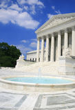 US Supreme Court, Wide Angle Royalty Free Stock Photo