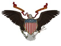 US symbol Royalty Free Stock Images