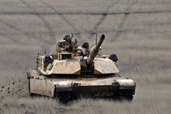 US tank  Abrams A1M1 Royalty Free Stock Photography