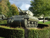 US tank destroyer M10, Bayeux, Normandy Stock Photos