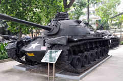 US Tanks, Ho Chi Minh City, Vietnam Royalty Free Stock Photo