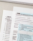 US Tax income form Royalty Free Stock Images