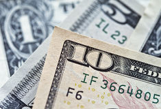 US ten dollar bill Stock Photography