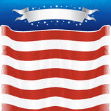 US theme. Independence Day design template for your text Royalty Free Stock Photos