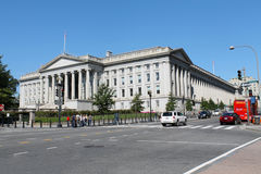 US Treasury Building Royalty Free Stock Images