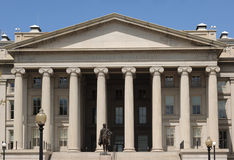 US Treasury Department Stock Photo