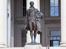US Treasury Department Alexander Hamilton Statue Washington DC Stock Images
