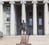 US Treasury Department Alexander Hamilton Statue Washington DC Royalty Free Stock Photo