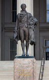 US Treasury Department Alexander Hamilton Statue Washington DC Royalty Free Stock Photos