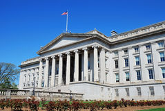 US Treasury Department building, Washington DC Stock Image