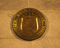 US Treasury Department Seal Washington DC Royalty Free Stock Image