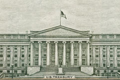 US Treasury Department Washington DC Royalty Free Stock Image