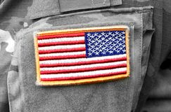 US troops. US soldiers. US army.  royalty free stock image