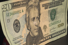 US Twenty Dollar Bill Stock Images