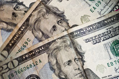 US Twenty Dollar Bills Stock Photography