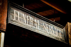 Usługi Pogrzebowe Zdjęcie Royalty Free