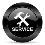 Usługowa ikona Zdjęcie Royalty Free