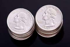 US-Vierteldollar Stockfoto