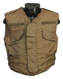 US Vietnam war body armour Stock Image