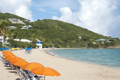 US Virgin Island Stock Image