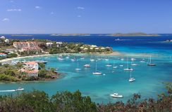 US Virgin Islands Royalty Free Stock Photo