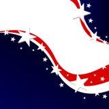 US-Wahlhintergrund Lizenzfreies Stockfoto
