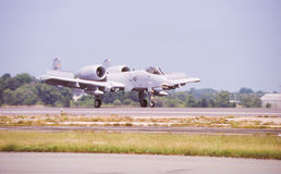 US A-10 Warthog. Royalty Free Stock Images