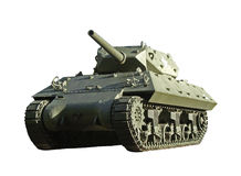 US WW2 M10 tank destroyer Royalty Free Stock Image