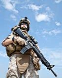USA żołnierz piechoty morskiej Zdjęcia Royalty Free