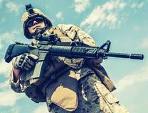 USA żołnierz piechoty morskiej Zdjęcie Royalty Free