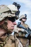 USA żołnierze piechoty morskiej Fotografia Royalty Free