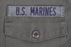 USA żołnierzy piechoty morskiej tło Zdjęcie Stock