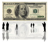USA 100 dollars banknote Stock Photography