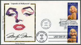 USA - 1995: shows Marilyn Monroe (1926-1962) Stock Image