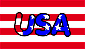 USA 2. This is the USA Royalty Free Stock Photos