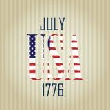 USA 1776 Arkivbild