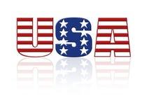 USA royalty free illustration