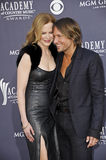 USA - 46th Annual Academy of Country Music Awards. LAS VEGAS - APRIL 3 - Nicole Kidman and Keith Urban attend the 46th Annual Academy of Country Music Awards in Royalty Free Stock Image