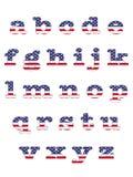 USA Abc. Royalty Free Stock Photos