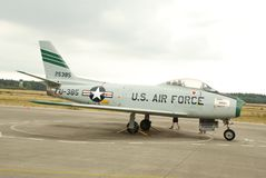 usa airforce at national military museum stock photography