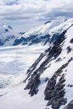 USA - Alaska - Aerial view of  mountains Stock Image