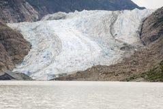 USA Alaska Davidson lodowiec - lodowa punktu pustkowia safari - Obrazy Stock
