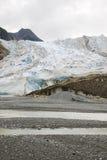 USA Alaska Davidson lodowiec - lodowa punktu pustkowia safari - Zdjęcia Royalty Free