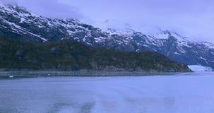 USA, Alaska, Glacier Bay National Park, World Natural Heritage. Glacier Bay National Park, Alaska, USA, is a natural heritage of the world, global warming stock footage