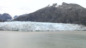 USA - Alaska - Margerie Glacier. With The Backdrop Of Grand Pacific Glacier - Glacier Bay National Park And Preserve - Travel Destination stock footage
