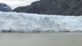 USA - Alaska - Margerie Glacier. With The Backdrop Of Grand Pacific Glacier - Glacier Bay National Park And Preserve - Travel Destination stock video