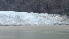 USA - Alaska - Margerie Glacier - Timelapse. USA - Alaska - Margerie Glacier With The Backdrop Of Grand Pacific Glacier - Glacier Bay National Park And Preserve stock footage