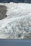 USA Alaska - Mendenhall glaciär Royaltyfria Foton