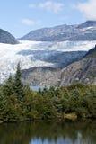 USA Alaska - Mendenhall glaciär Royaltyfri Foto